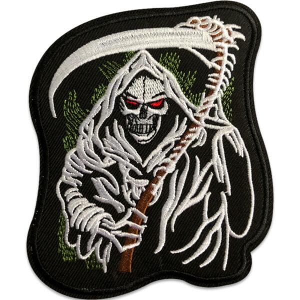 grim reaper - tygmärke