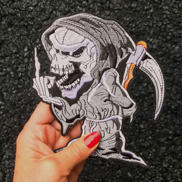 grim reaper tygmärke