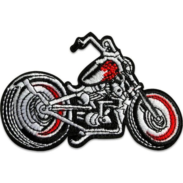 tygmärke motorcykel