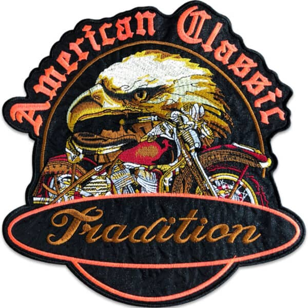 örn american classic ryggmärke - tygmärke