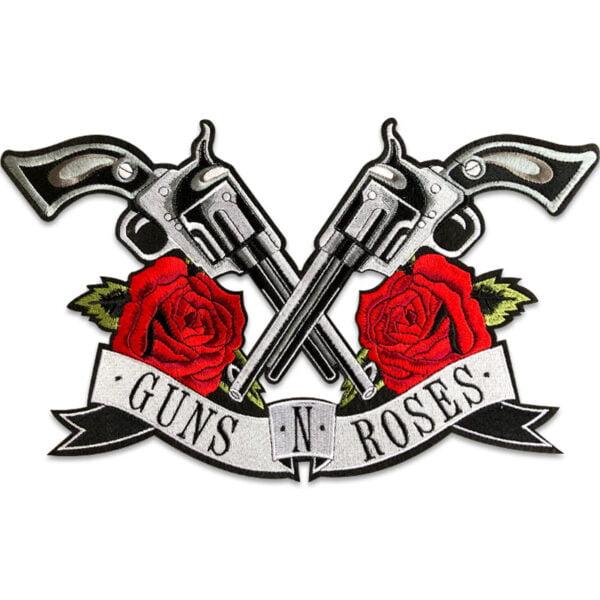 guns n roses stort tygmärke rygg