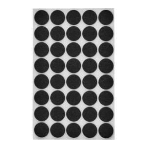 möbeltassar svarta 20 mm