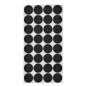 möbeltassar svarta 28 mm