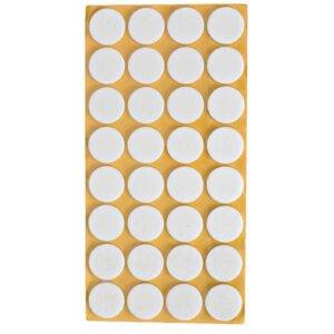 möbeltassar vita rund 28 mm