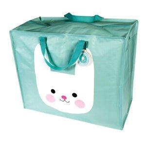 Hopvikbar förvaringsväska med motiv katt