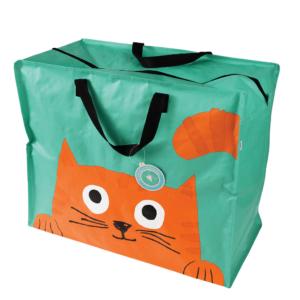 Stor förvaring motiv orange katt