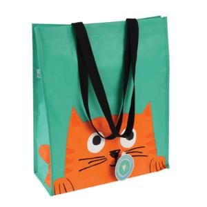Shoppingkasse - orange katt