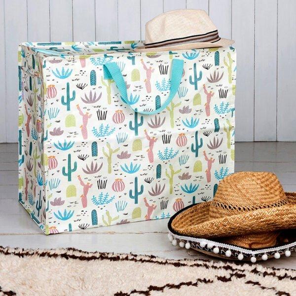 Snygg beach bag - Stor strandväska motiv ökenlandskap