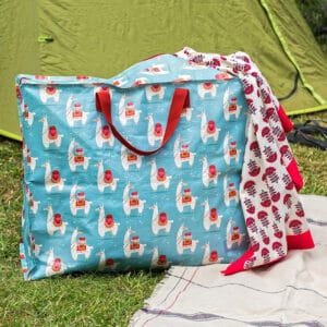 Stor förvaringsväska att förvara camping utrustning