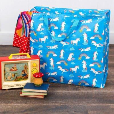 Förvaringspåse för leksaker till barnens rum