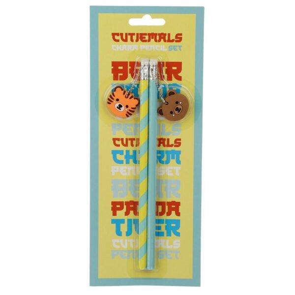 pennor och sudd för barn - tiger björn