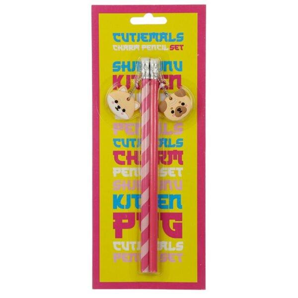 Litet pennset för barn med två pennor och två sudd