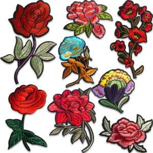 rosor tygmärken påstrykbara