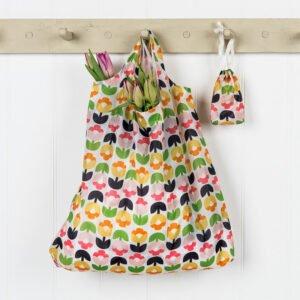 hopvikbar shoppingpåse tulpaner