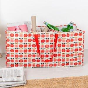 Väska för återvinning av glas, papper och metall
