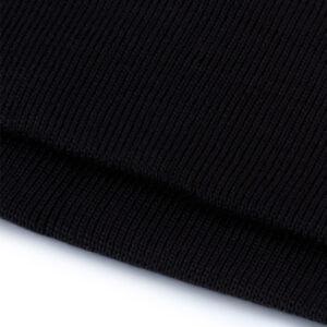 midjemudd elastisk svart