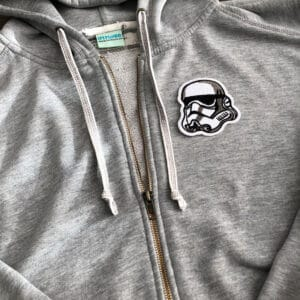 stormtrooper star wars tygmärke tröja