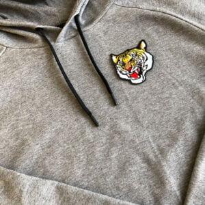 tiger tygmärke tröja