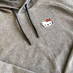 Paljetter hello kitty på tröja