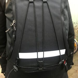 reflexdekaler självhäftande ryggsäck