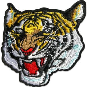 Brodyrmärke Exotisk Tiger
