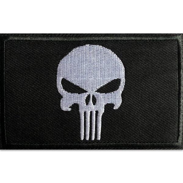 Punisher Patch Rektangulär