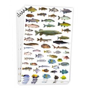 fiskar klistermärken