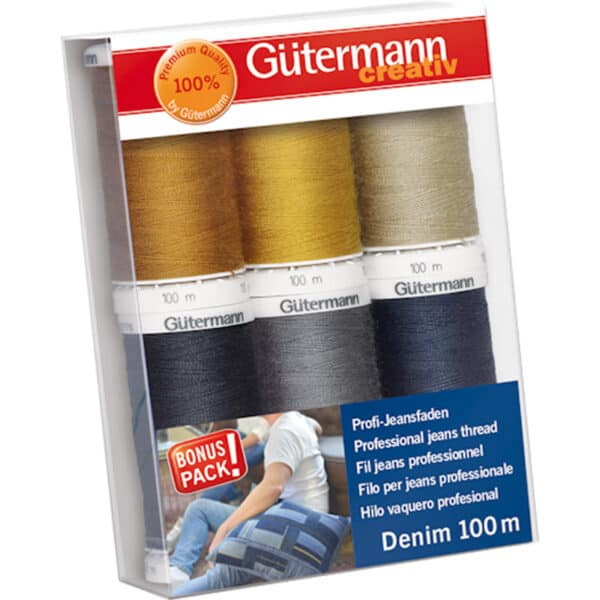 trådset jeans gütermann