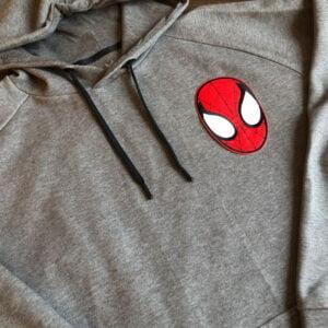 spindelmannen tygmärke tröja
