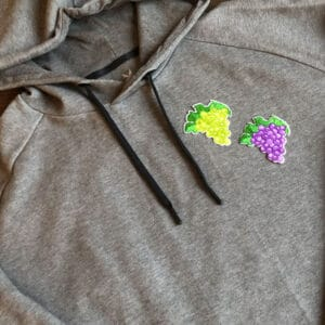 vindruvor tygmärken tröja