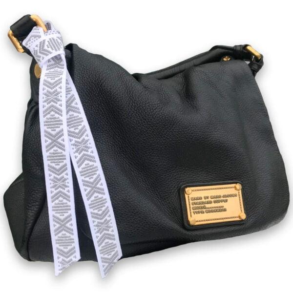 Reflex hemslöjdsband på väska