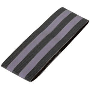 reflexarmband kardborre svart