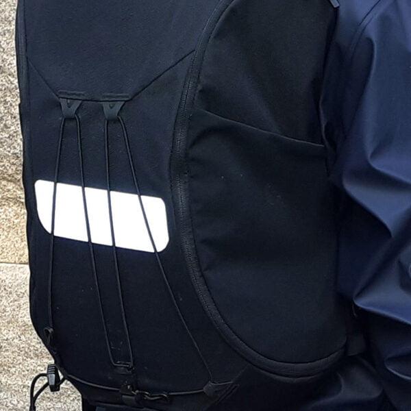 självhäftande reflexband på ryggsäck - reflex att klistra på kläder