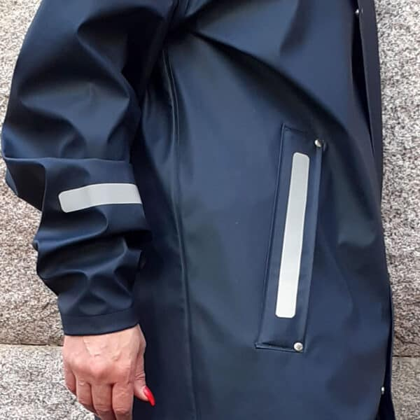 självhäftande reflexband på regnjacka - reflex att klistra på kläder