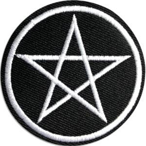 pentagram tygmärke