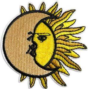 sol måne tygmärke