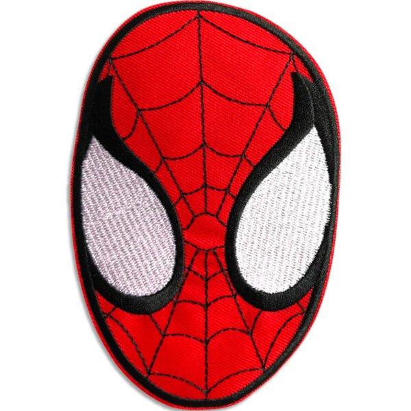 Spindelmannens mask - tygmärke att stryka på