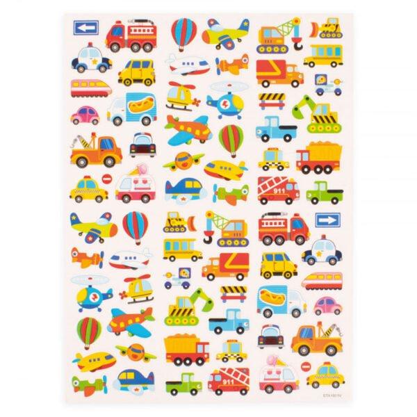 stickers fordon - stickers till barn