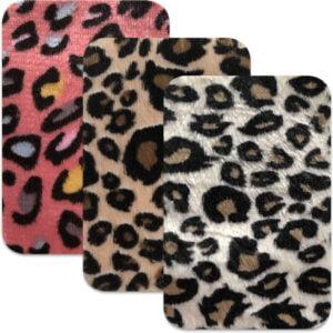Leopard mönstrad laglapp - stryka på
