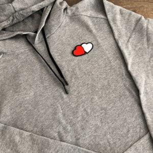 tvillinghjärta tröja