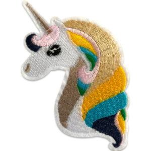 unicorn enhörning tygmärke