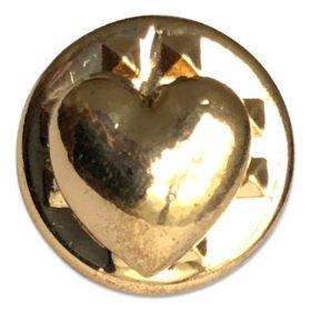 Guldhjärta 0,8x0,8 cm