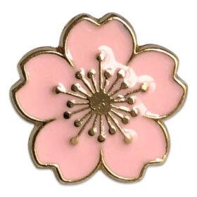 Rosa blomma 1,5 cm