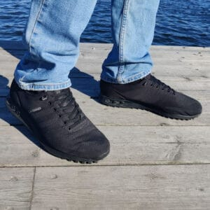 elastiska skosnören svarta