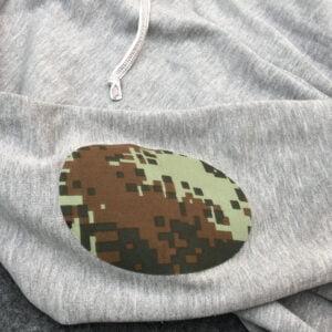 kamouflage lapp tröja