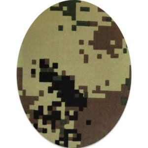 Kamouflage oval lagningslapp