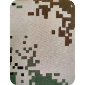 Kamouflage rektangel natur - lagningslapp