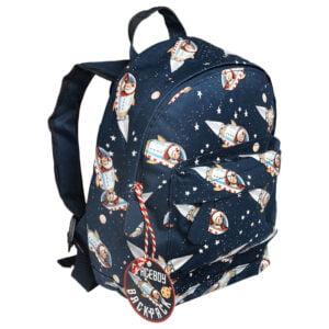 Rymdraket ryggsäck för barn