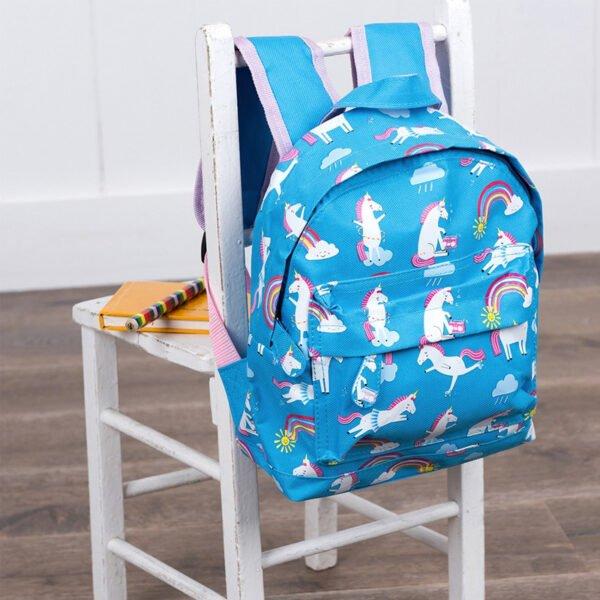 ryggsäck för barn - enhörningar