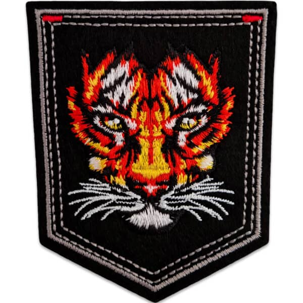tiger emblem tygmärke